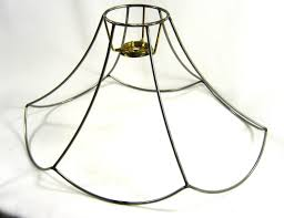Lampshade Frame Wire Medium Size For Table Or Bridge Lamp Wire Gold