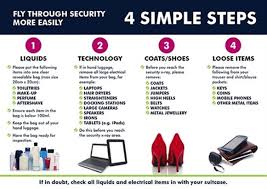 easyjet bage allowance hand luge restricted items follow these 4 simple steps to fly through security makeup