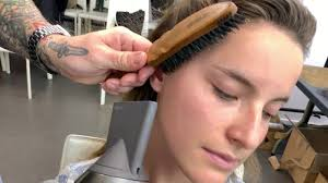 control baby hairs along the hairline