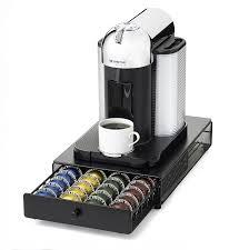 coffee machines nespresso. Fine Coffee Amazoncom NIFTY 6145 Nespresso Vertuoline Capsule Drawer For Coffee  Machines Black Kitchen U0026 Dining Throughout Machines O