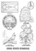 Small Picture Ohio State Tree coloring page Free Printable Coloring Pages
