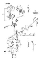 1990 suzuki quadrunner lt f250 oem parts babbitts suzuki partshouse wiring harness
