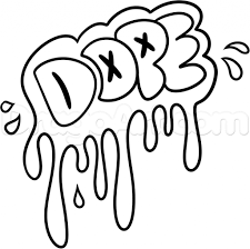 Easy graffiti drawings how to draw dope step step graffiti pop