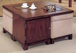 ... Alluring Ottoman Coffee Table Storage With Inspiring Coffee Table With Storage  Ottomans Square Coffee Table ...