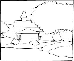 Small Picture Free landscape coloring pages for kids ColoringStar