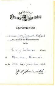 Tracking Leonard And Myrtle S Church Membership