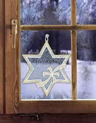 Gardinen Welt Online Shop Fensterbilder Weihnachten Stern