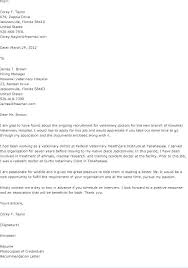 Veterinary Technician Resume Cover Letter Best of Technician Cover Letter Sample Amere