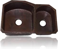 drop in kitchen sink. 70/30 Undermount Or Drop-In Double Bowl Copper Kitchen Sink (33 Drop In O