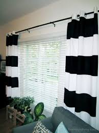 Diy Painted Window Curtains Painted Curtains Window Curtains