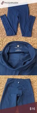 Yogalicious small royal blue pants