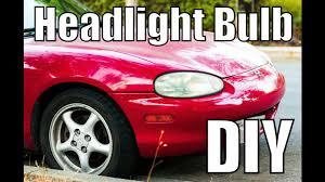 1999 Mazda Miata Fog Light Replacement Mazda Miata Nb Headlight Bulb Replacement Diy How To Replace 1999 2000 2001 2002 2003 2004