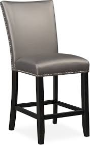 gray counter height chairs. Unique Counter Artemis CounterHeight Upholstered Stool  Gray On Counter Height Chairs L
