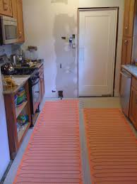 Heated Kitchen Floor Kitchen Diy Heated Floor And New Tile Andy Idsinga Make Fix