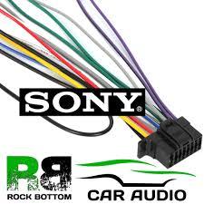 sony cdx g1000u g1001u g1002u car radio stereo wiring harness sony cdx g1000u g1001u g1002u car radio stereo wiring harness loom iso lead