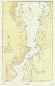 Nautical Maps Of Lake Champlain