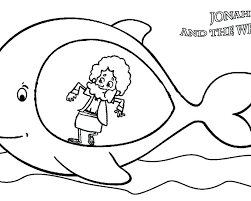 jonah and the whale coloring pages free printable colouring book