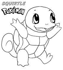 Pokemon Squirtle Coloring Pages Printable Get Coloring Pages