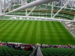 Aviva Stadium Dublin View From Top Row Of East Stand