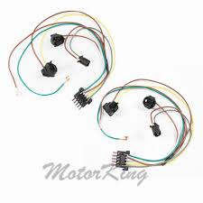mercedes clk500 clk55 amg headlight wire harness connector l&amp Wire Harness Connector Kit mercedes clk500 clk55 amg headlight wire harness connector l& r kit dc108a wire harness connector repair kit