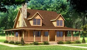 winsome log home house plans designs 4 beaufort front
