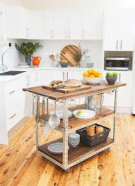 ... Diy Kitchen Island On Wheels How To Make A Kitchen Cart Out Of Cabinets  ...