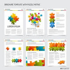 vector set of modern brochure flyer design templates