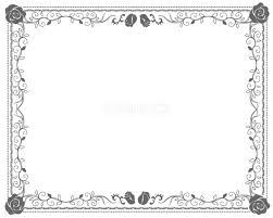 おしゃれかっこいい囲み アンティーク無料フレーム素材 枠 飾り28344