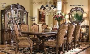 opulent furniture. Impressive Design Ebay Dining Room Sets Opulent Ideas 7 PC English Formal Furniture Table Set