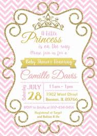 Princess Theme Baby Shower Invitations You Get Ideas From