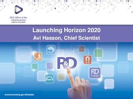 HORIZON 2020 – a Strategic Element in Israel's R&D Eco-System - Avi H…