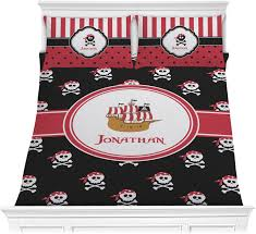 pirate comforter set personalized
