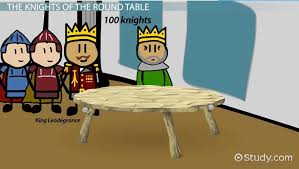 knights of arthur s round table legend overview lesson transcript study com