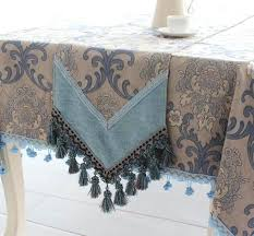 can i put a square tablecloth on a round table blue grey continental upscale rustic restaurant