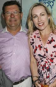 Steve Price with wife of ten years Wendy Black.   Steve, Men casual, Mens  tops