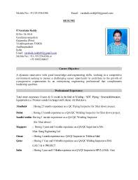 Ndt Inspector Resume Inspector Resume Samples Inspector Resume Samples Visualcv