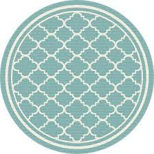 round moroccan rug 8 round aqua tile indoor outdoor rug garden city furniture moroccan rugs nyc
