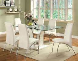 Glenview Table By Furniture Of America CMWHTTABLE A - San diego dining room furniture