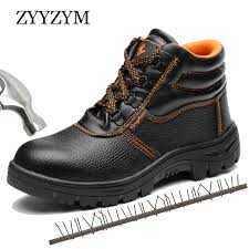 <b>ZYYZYM</b> Men Motorcycle Boots Winter Lace Up Style Cow Leather ...