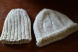 baby knits hats