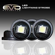 Small Led Strobe Lights Cipa 93187 Evo Formance Ultra Mini Led Lightning Strobes