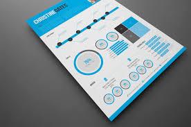 Indesign Modern Resume Modern Infographic Resume Stockindesign