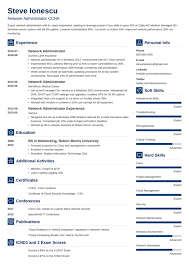 Cloud Computing Cv Resume Ideas Page 39 Tremendous Network Administrator Cv