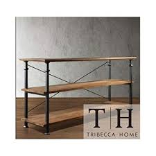 industrial tv stand. Tribecca Home Industrial Tv Stand. This Stylish Furniture Is The Perfect Addition To Any Room Stand