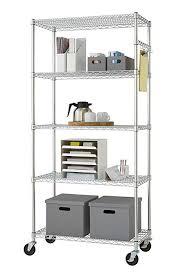 impressive ideas commercial grade shelving nsf certified 6 tier storage rack trinity ecostorage 5 tier nsf