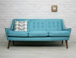 Brilliant Vintage Couch Beautiful Sofa Retro Mid Century Danish Style Throughout Decor