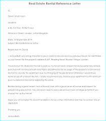 Rental Letter Template Sample Rental Reference Letter Sociallawbook Co