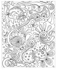 Small Picture Free Printable Abstract Coloring Pages For Kids inside Free