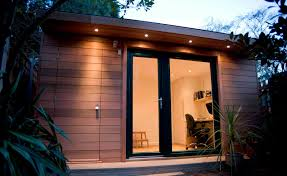 garden office designs interior ideas. Office Shed Ideas. Impressive Wooden Garden Home New In Popular Interior Design Property Designs Ideas D