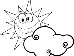 smiley face coloring page happy colouring sheets pages printable
